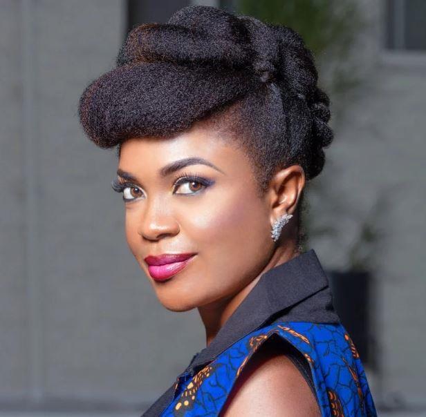 Omoni Oboli natural hair