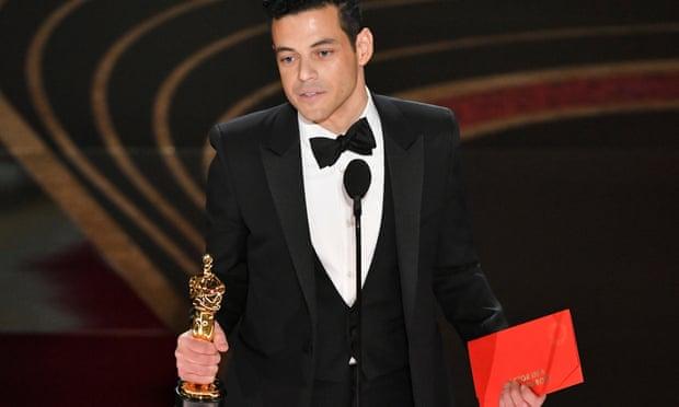 Rami Malek Egyptian-American maintains winning streak at Oscars