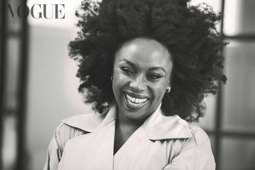 Chimamanda on the cover of September 2019 Vogue