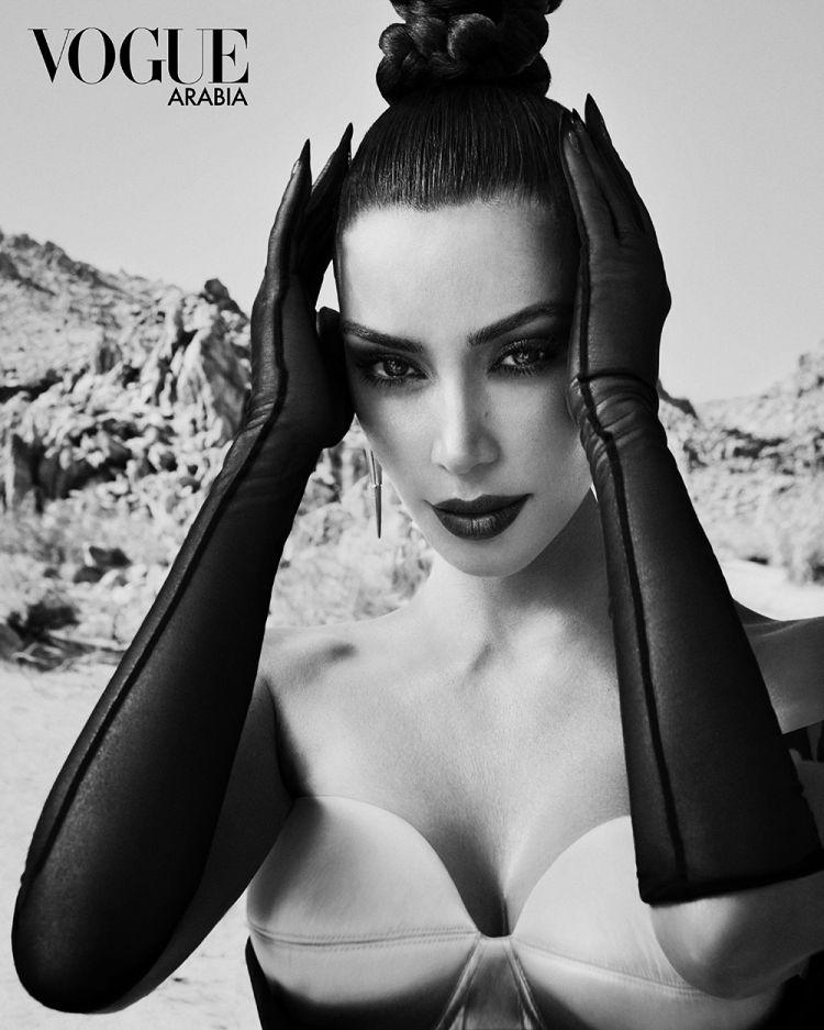 Kim Kardashian West for Vogue Arabia 10 Things We Learned